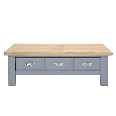 WILLIS & GAMBIER GENOA COFFEE TABLE in Oyster Grey