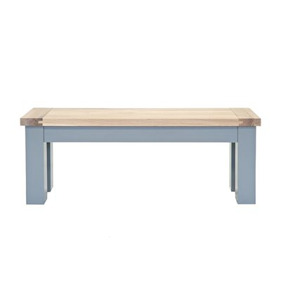 WILLIS & GAMBIER GENOA STORAGE BENCH in Oyster Grey
