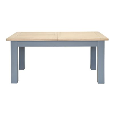 WILLIS & GAMBIER GENOA LARGE EXTENDING TABLE in Oyster Grey