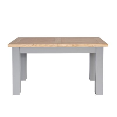 WILLIS & GAMBIER GENOA SMALL EXTENDING TABLE in Oyster Grey