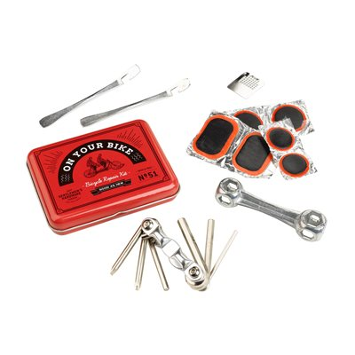 BICYCLE PUNCTURE REPAIR KIT in Retro Design