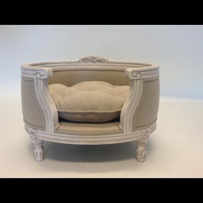 designer dog bed furniture. Fine Bed GeorgeDesignerPetBedEcruLinenpng In Designer Dog Bed Furniture