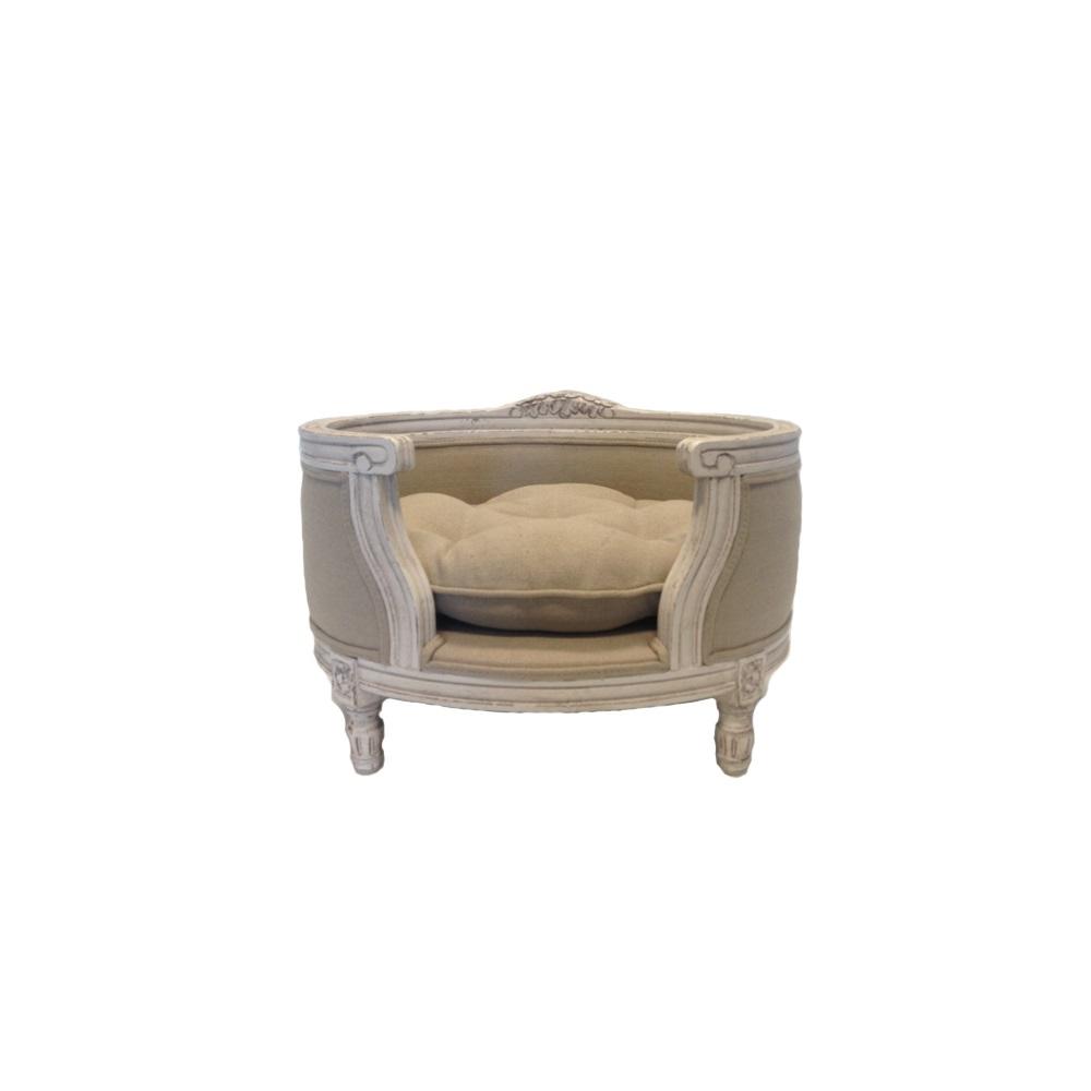 the george luxury designer pet bed in linen ecru cuckooland. Black Bedroom Furniture Sets. Home Design Ideas