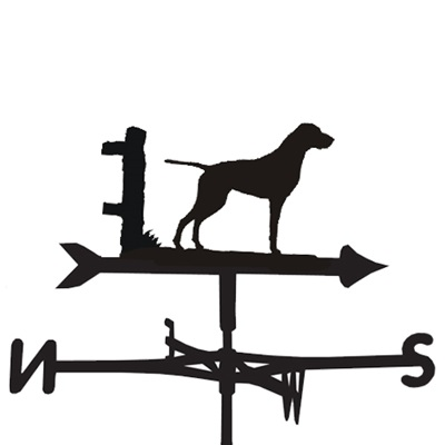 WEATHERVANE in German Pointer Smooth Coat Design