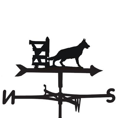 WEATHERVANE in German Shepherd Design