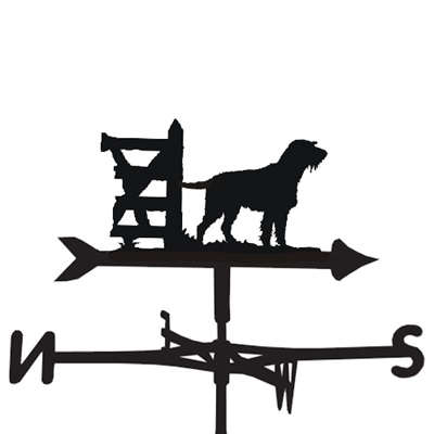 WEATHERVANE in German Wire Pointer Design