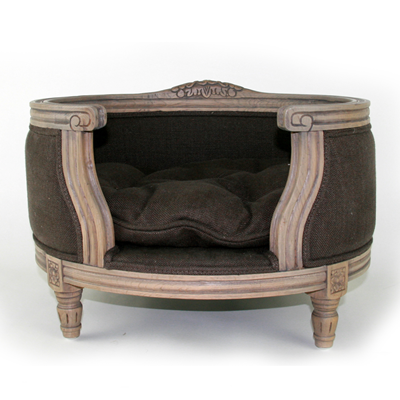 The George Luxury Designer Pet Bed in Belgium Chocolate