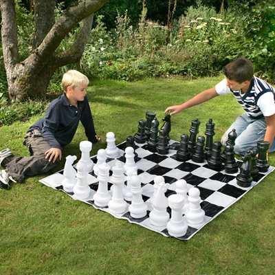 OUTDOOR GARDEN CHESS SET by Garden Games