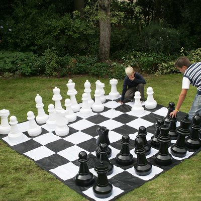GIANT OUTDOOR GARDEN CHESS SET by Garden Games