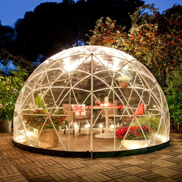 Giant Igloo for Winter Outdoor Dining