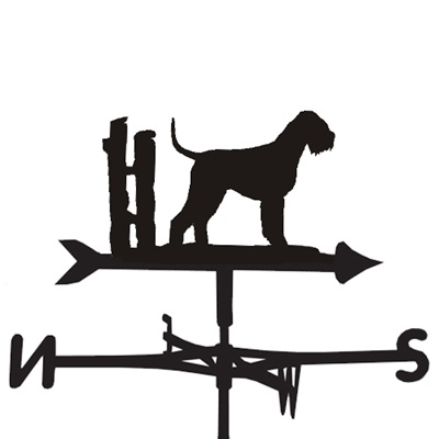 WEATHERVANE in Giant Schnauzer Design