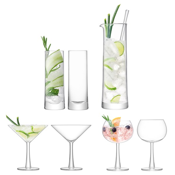 LSA International Gin Cocktail Barware Set