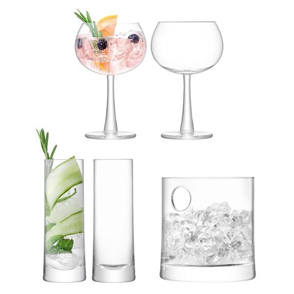 LSA International Gin Ice Barware Set