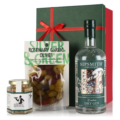 GIN & NIBBLES Luxury Gift Box