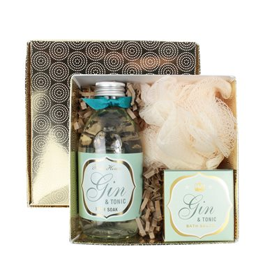BATH HOUSE GIN & TONIC BATHE GIFT BOX