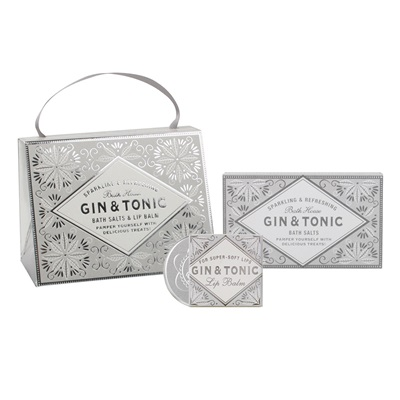 Bath House Silver Gin & Tonic Handbag Treat