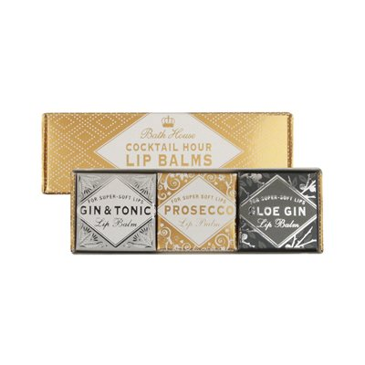 Bath House Classic Cocktails Lip Balm Set