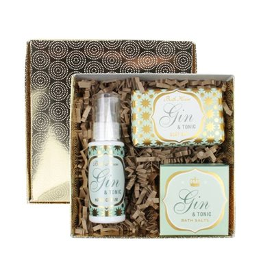 BATH HOUSE GIN & TONIC PAMPER GIFT BOX