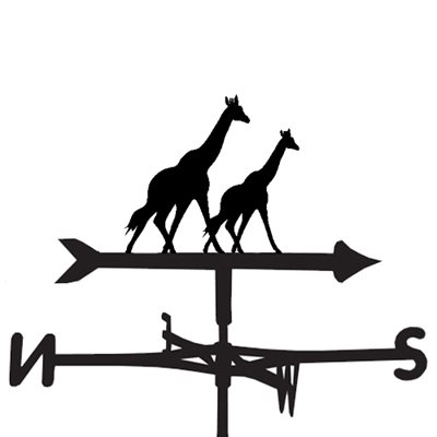 WEATHERVANE in Giraffe Design