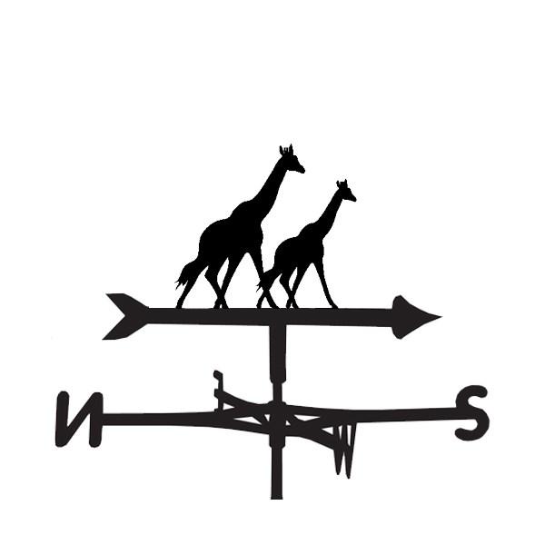 Giraffe Weathervanes