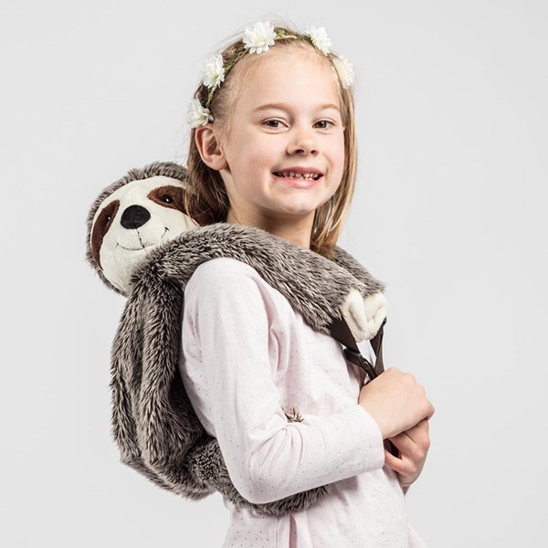 Kids Plush Sloth Animal Backpack