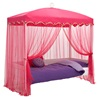 Canopy with Tie Back Curtains for 1001 Nights Bed
