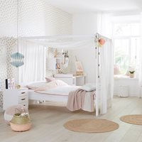 LIFETIME DREAMS LUXURY FOUR POSTER CANOPY BED