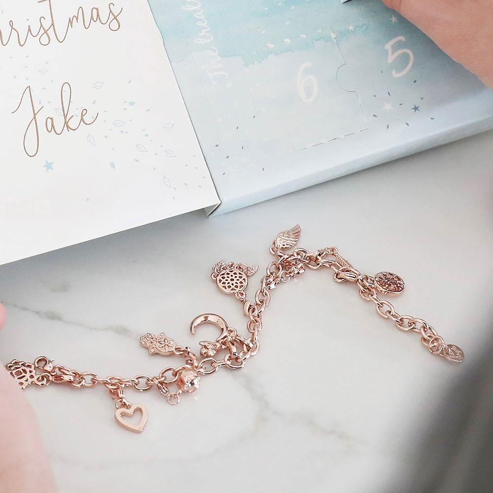 Personalised 12 Days Of Treats Jewellery Advent Calendar