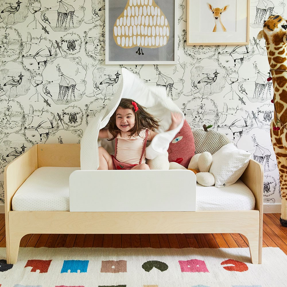 Oeuf Perch Toddler Bed in White & Birch - Oeuf NYC ...
