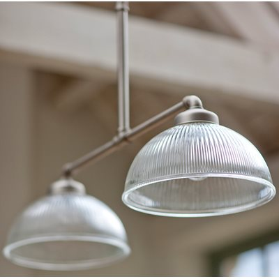 DOUBLE PARIS VINTAGE CEILING LIGHT