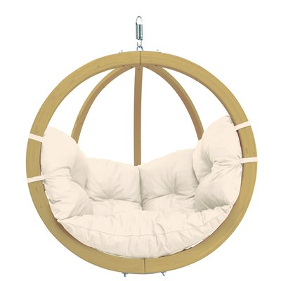 GLOBO HANGING CHAIR in White