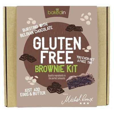 BAKEDIN GLUTEN FREE BROWNIE BAKING KIT