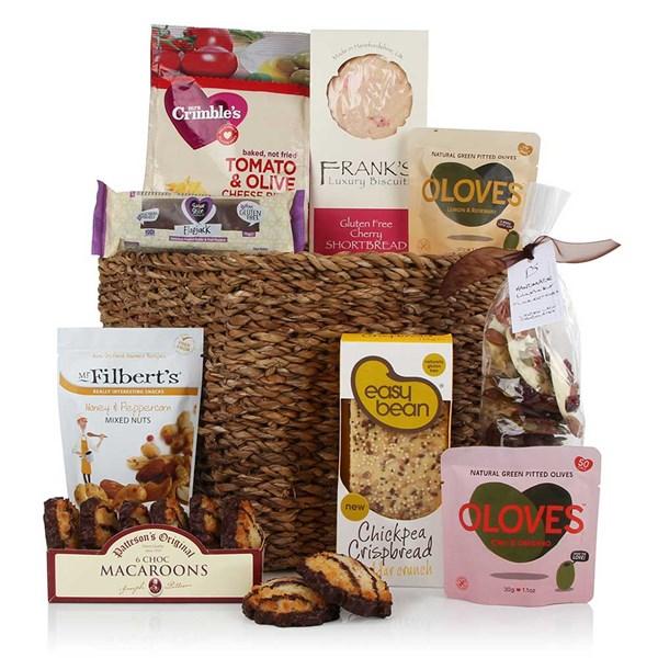 Gluten and Wheat Free Basket Luxury Gift Hamper