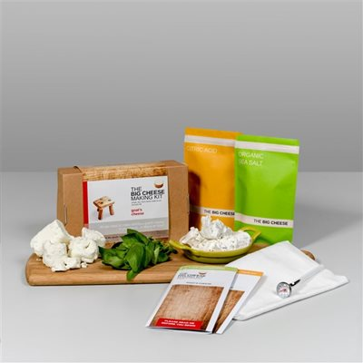 GOAT'S CHEESE Big Cheese Making Kit