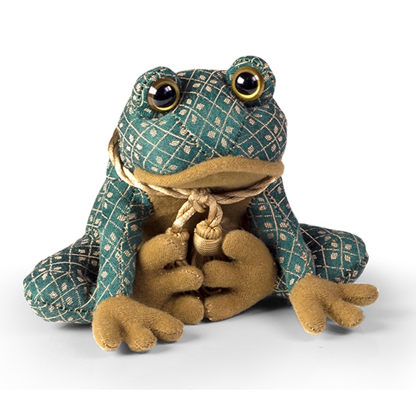 Gold-Green-Fabric-Paperweights-Toad-Frog.jpg