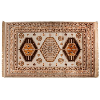 JAR AZTEC RUG in Golden Brown
