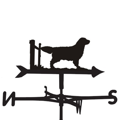 WEATHERVANE in Golden Retriever Design