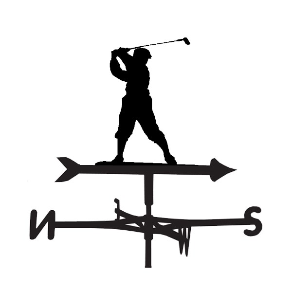 Golf Design Weathervane