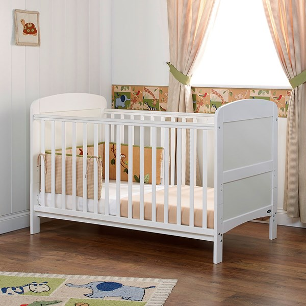 Obaby Grace Cot Bed in White
