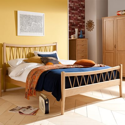 WILLIS & GAMBIER GRACE WOODEN BED FRAME