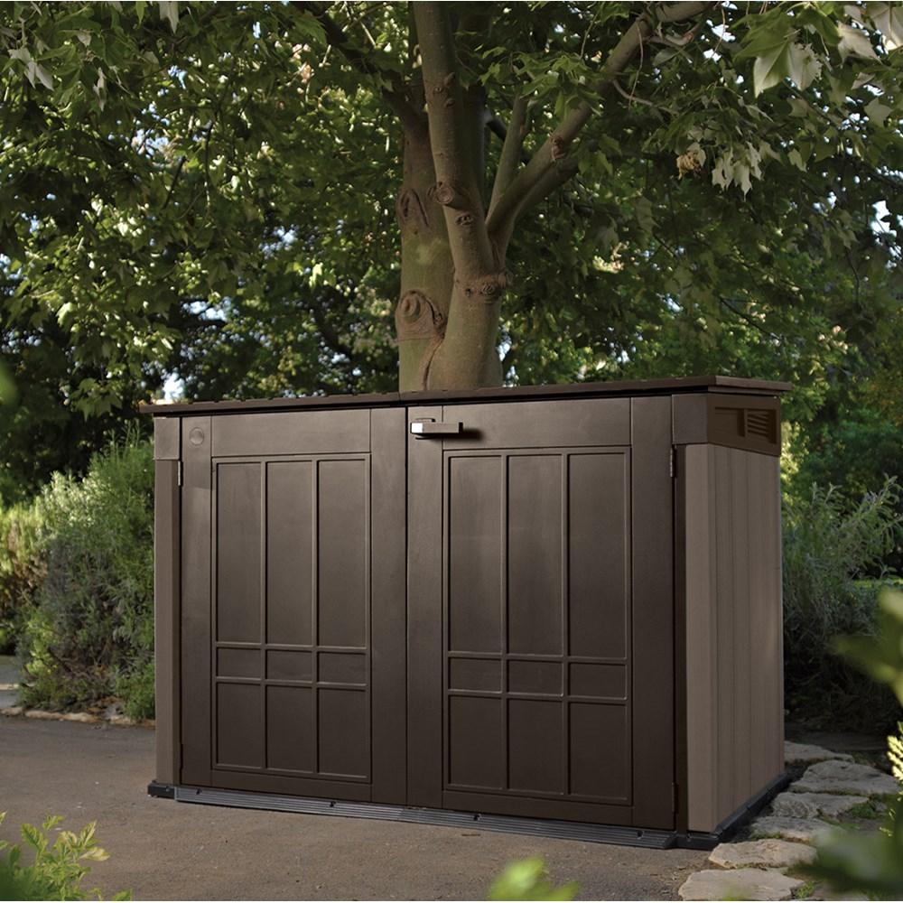 Keter Grande Store Outdoor Storage Box In Brown