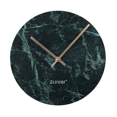 ZUIVER MARBLE TIME WALL CLOCK in Green
