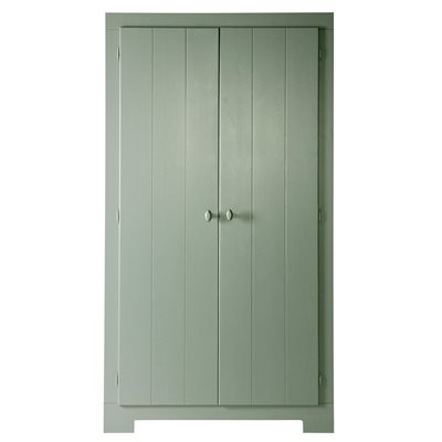 NIKKI WARDROBE WITH STORAGE DRAWER in Army Green