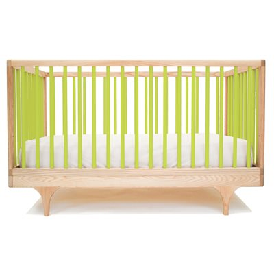 KALON STUDIOS CARAVAN COT & TODDLER BED in Green