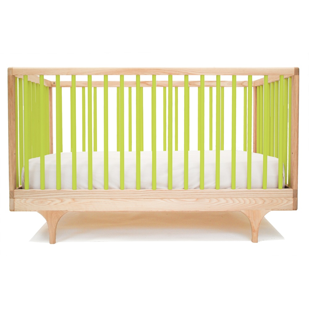 Green Pine Baby Cot Crib Toddler Bed Kalon