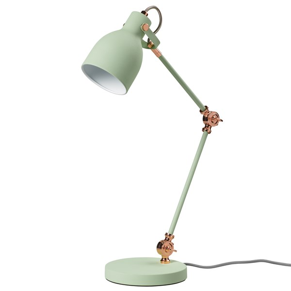Task Table Lamp in Swedish Green