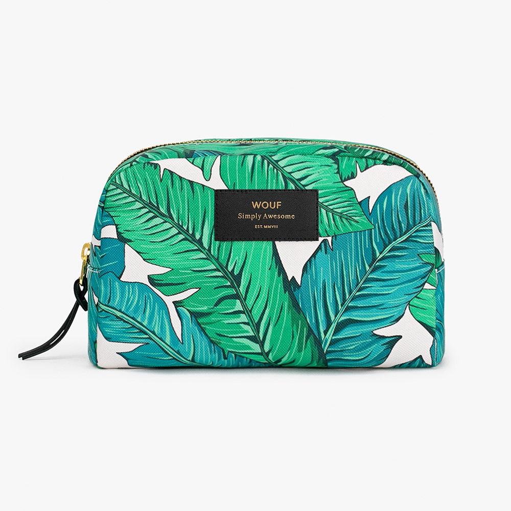 Wouf Tropical Big Beauty Makeup Bag Wouf Cuckooland