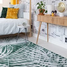 Green-and-White-Botanical-Leaf-Print-Rug-from-Zuiver.jpg