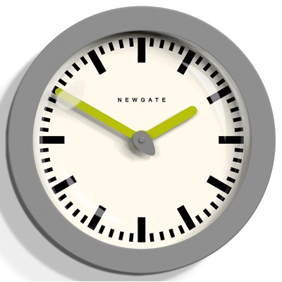 NEWGATE ANDROMEDA Wall Clock in Grey