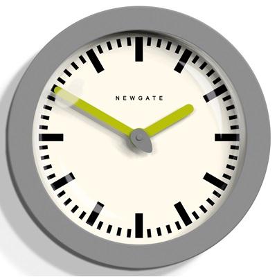 NEWGATE ANDROMEDA Wall Clock in Grey